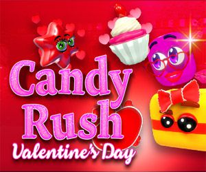 Candy Rush Valentine's Day online slot review